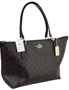 Coach Cc Kate Spade Tote in Brown / Black