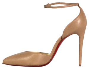 Christian Louboutin Uptown D'orsay Nude Pumps