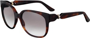 CARTIER CARTIER Trinity Sunglasses Tortoise Gold & Palladium Finish Brown