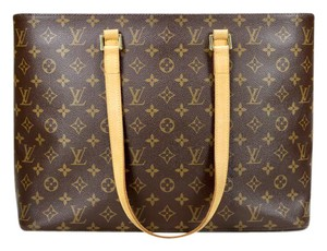 Louis Vuitton Luco Vavin Tote in Brown