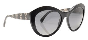 Chanel Chanel 5294 Black Lace Polarized Cat eye Gradient Sunglasses