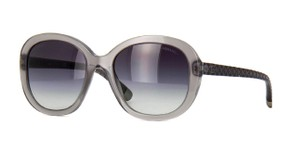 Chanel CHANEL 5328-A Round Dove Grey Round Sunglasses