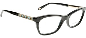 Tiffany & Co. Tiffany & Co. TF 2102 Black + Gold Detail Luxury glasseses