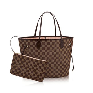 Louis Vuitton Neverfull Demier Monogram Ballerine Tote in Damier MM