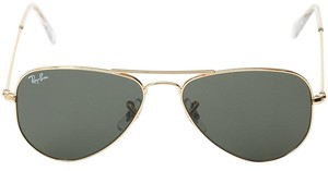 Ray-Ban Ray-Ban Aviator RB3044 Extra Small in Green Classic G-15