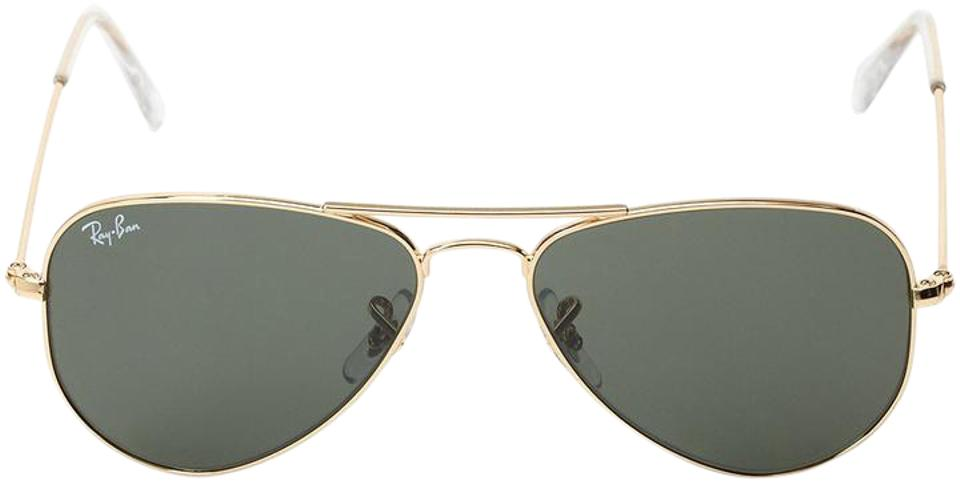86c724a168118 Ray-Ban Ray-Ban Aviator RB3044 Extra Small in Green Classic G-15 ...