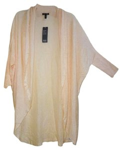 Eileen Fisher Fabric Incredible Drape Delicate Peach Tones Cardigan