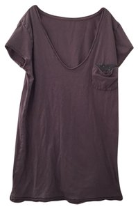 Ann Taylor LOFT T Shirt gray with gray sequin
