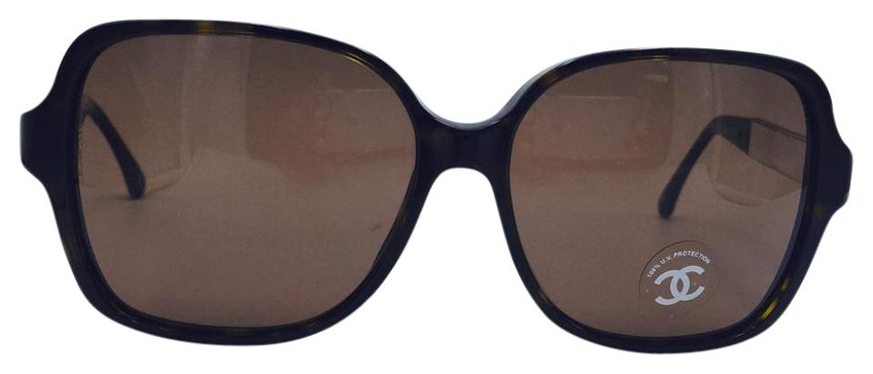 Chanel round brown tortoise collection miroir sunglasses for Collection miroir chanel