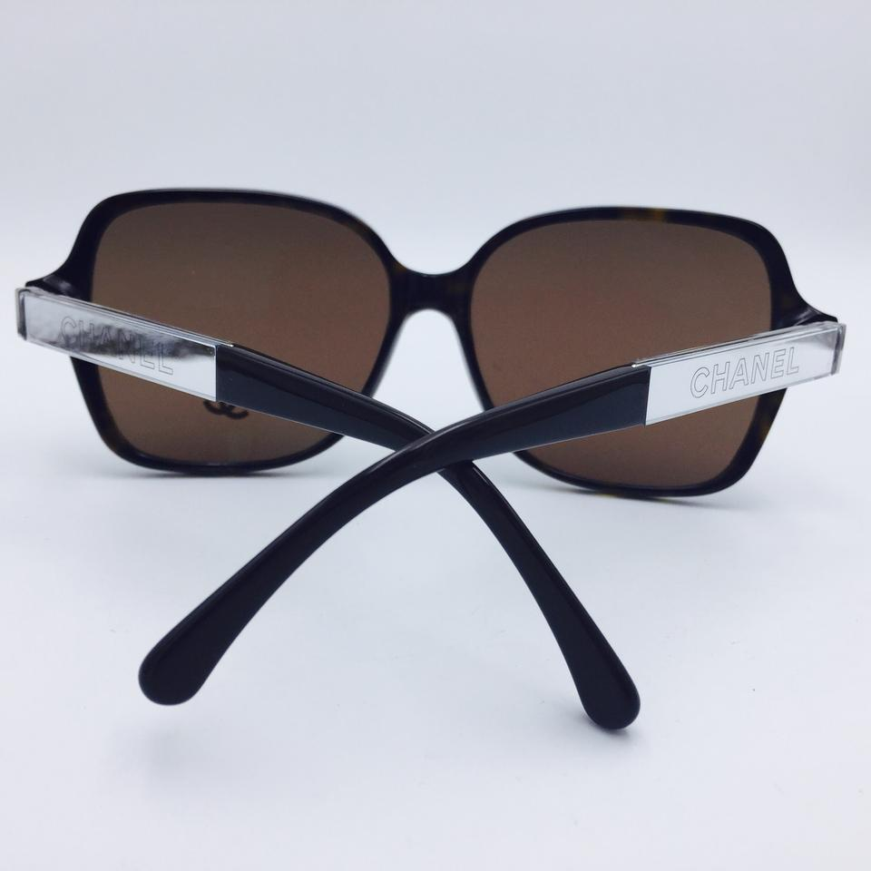 Chanel round brown tortoise collection miroir sunglasses for Collection miroir