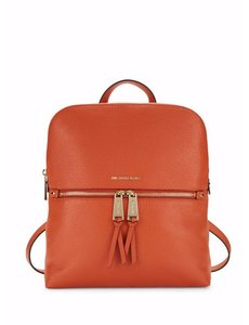Michael Kors Mercer Studio Leather Satchel Backpack
