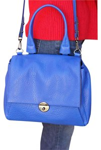 MILLY Satchel in French Blue