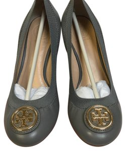 Tory Burch Quarry Rock Gray Wedges