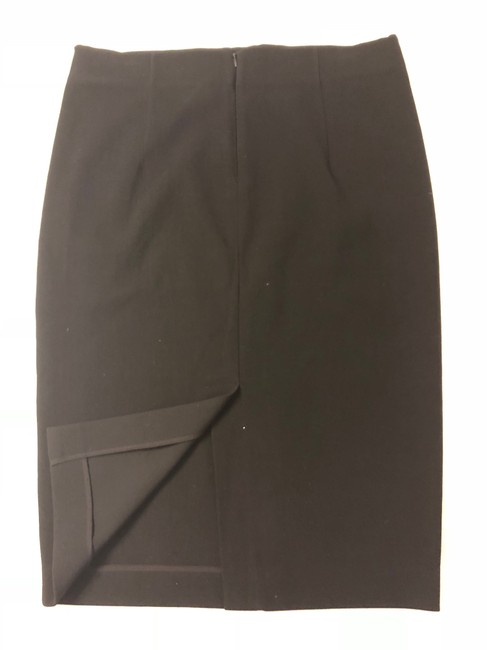 Donna Karan Dk Classic Soft Tailored D Collection Perfect Skirt black