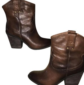 Lucky Brand brown, tan Boots