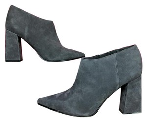 Marc Fisher Suede Gray Boots