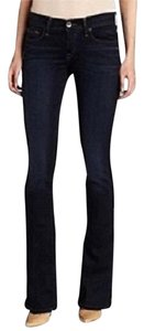 AG Adriano Goldschmied Stretch Dark Boot Cut Jeans-Dark Rinse