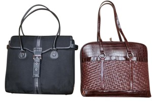 Coldwater Creek Classic Sporty Laptop Bag