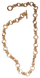 Club Monaco Gold Link Chain Necklace