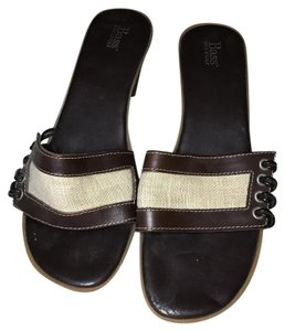 Bass brown and white Sandals