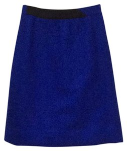 Louis Feraud Mini Skirt royal blue