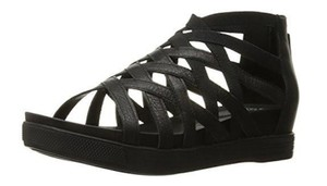 Eileen Fisher Leather Black Sandals