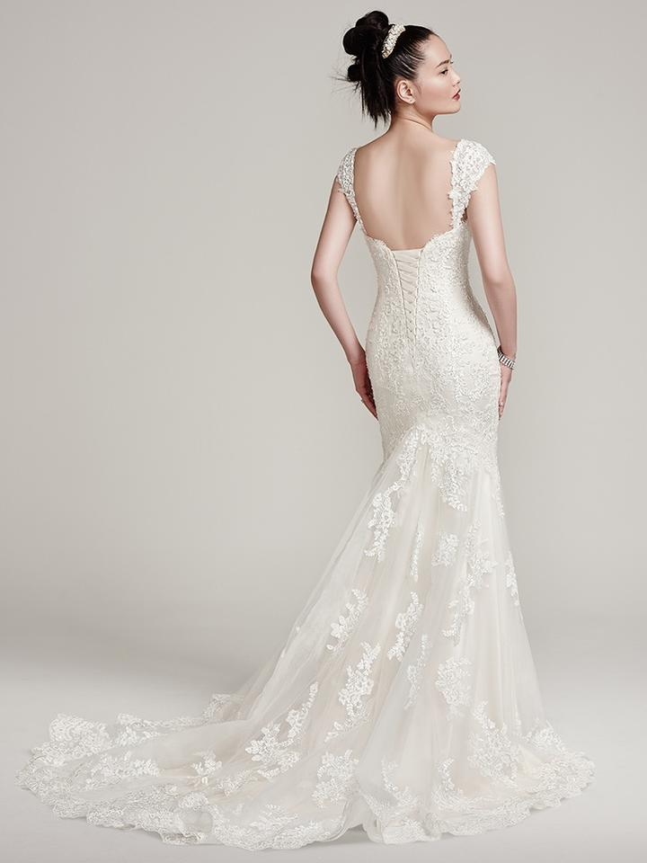 Sottero and Midgley Ivory Over Light Gold Lace Ireland Formal ...