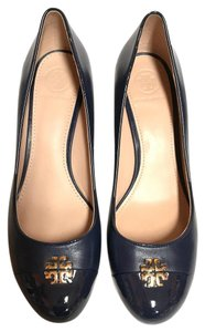 Tory Burch dark blue Wedges