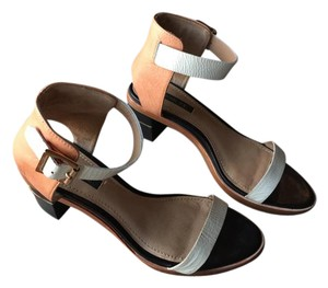 Rachel Zoe Leather Camel Sandals