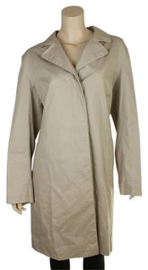 Burberry Burberry Tan 100% Cotton Trench Coat, Size 14 (124640)