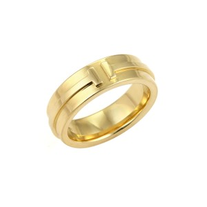 5f59970b9 Tiffany & Co. 20396 - T Two 18k Yellow Gold 5.5mm Band Ring -
