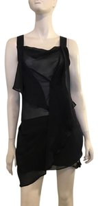 Foreign Exchange short dress Black on Tradesy