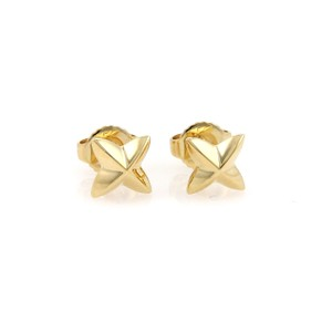 Tiffany & Co. 18041 - Peretti Northern Star 18k Yellow Gold Stud Earrings
