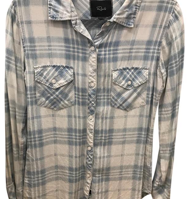 Preload https://item2.tradesy.com/images/rails-light-blue-button-down-top-size-0-xs-21443856-0-1.jpg?width=400&height=650