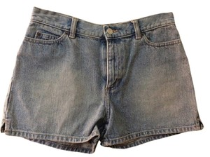 Gap High Waisted Short Jean Blue Denim Shorts