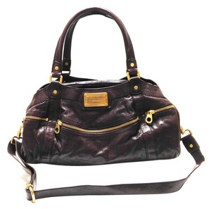 Marc by Marc Jacobs Satchel in Deep Purple