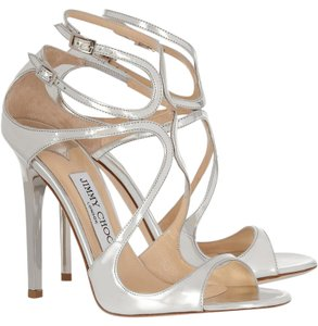 Jimmy Choo Lance Mirror Pumps Sold Out Silver Sandals