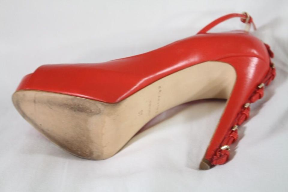 21506eb563e Brian Atwood Red Leather