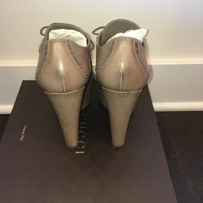 Gucci Taupe Wedges Size US 8.5 Regular (M, B) Gucci Taupe Wedges Size US 8.5 Regular (M, B) Image 4