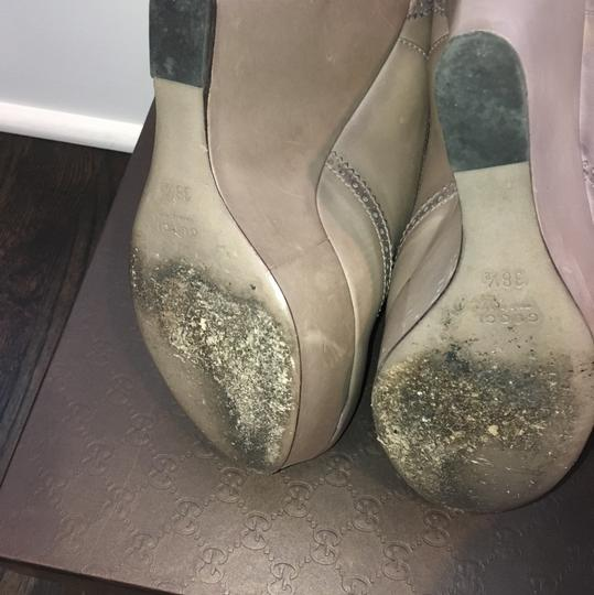 Gucci Taupe Wedges Image 4