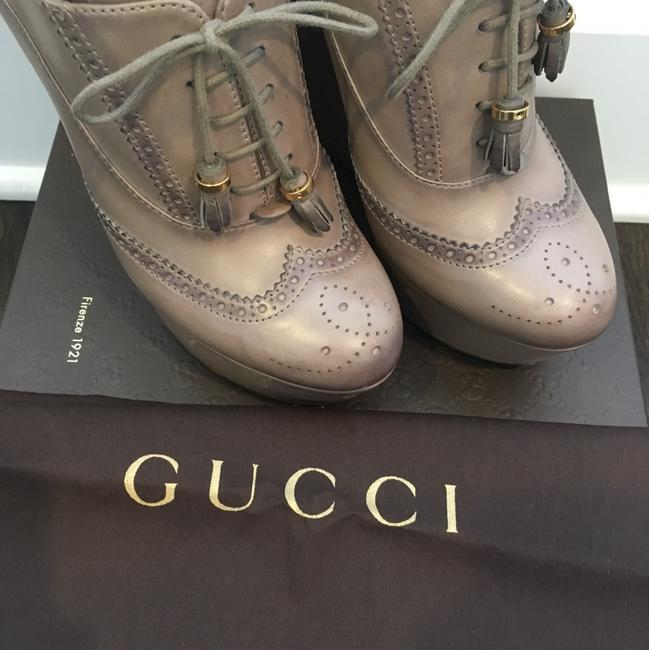 Gucci Taupe Wedges Size US 8.5 Regular (M, B) Gucci Taupe Wedges Size US 8.5 Regular (M, B) Image 6