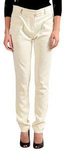 Just Cavalli Trouser Pants Off White
