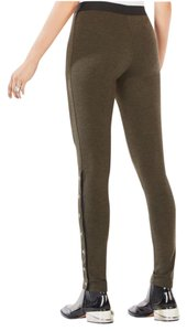 BCBGMAXAZRIA Dark Green Leggings