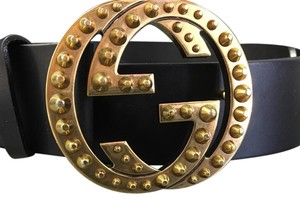 Gucci Gucci interlocking studded belt