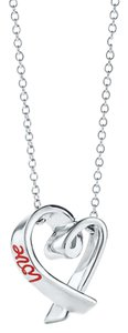 Tiffany & Co. T&Co Paloma Picasso Love necklace.