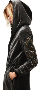 Free People Parka Quills Studded Embellished Military Jacket