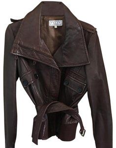 Pelle Studio dark brown Leather Jacket