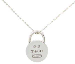 Tiffany & Co. Tiffany & Co. 1837 Collection Sterling Silver Circle Lock Necklace