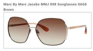 Marc Jacobs Marc By Marc Jacobs MMJ 098 Sunglasses 0AG6 Brown with case