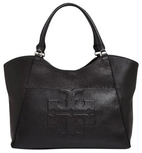Tory Burch Tote in black, gold hardware